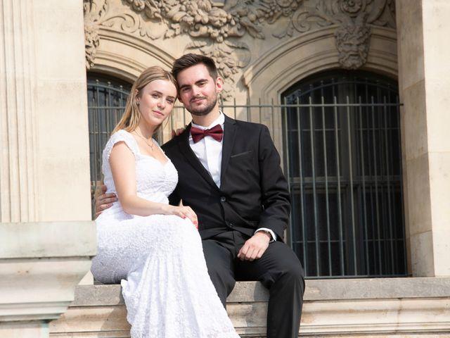 Le mariage de Thomas et Adeline à Paris, Paris 4
