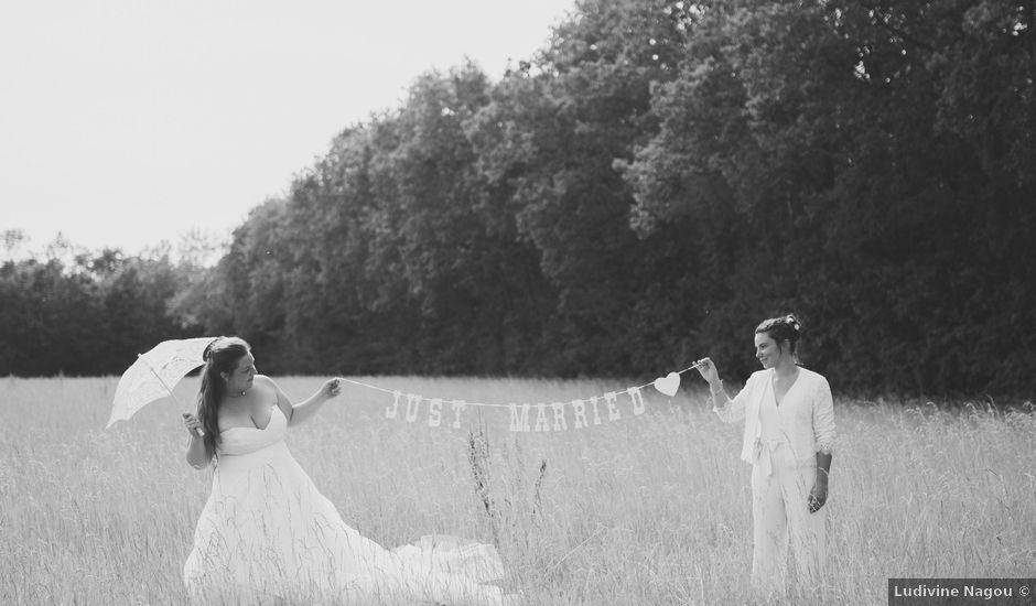 Le mariage de Marion et Anne Sophie à Le Gué-de-Longroi, Eure-et-Loir