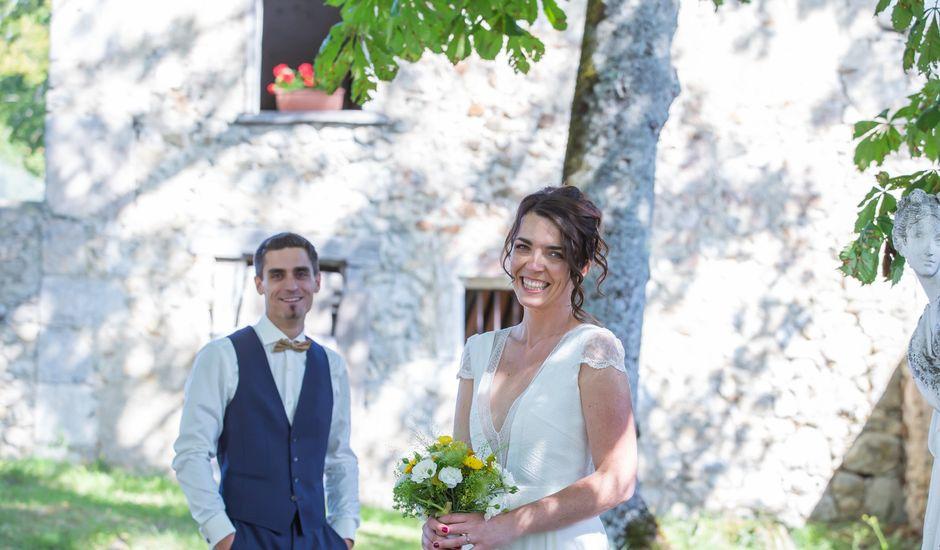 Le mariage de Florent et Elise à Saint-Offenge-Dessous, Savoie