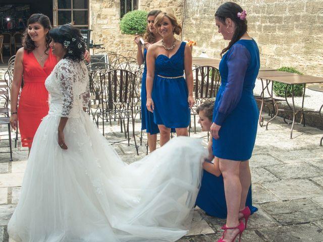 Le mariage de Marc et Ashley à Rochegude, Drôme 5