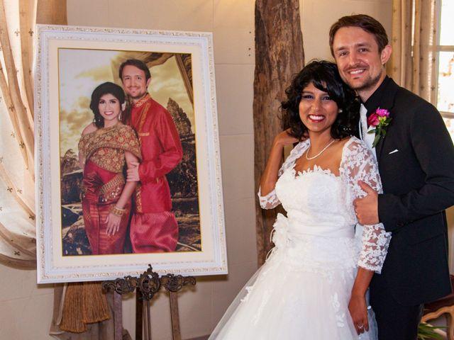 Le mariage de Marc et Ashley à Rochegude, Drôme 35
