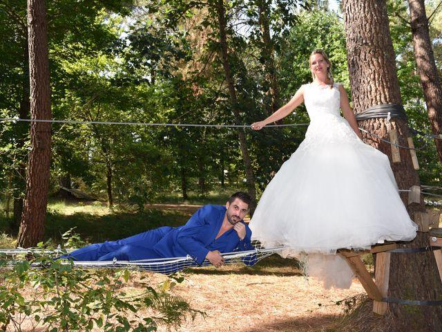 Le mariage de David et Mathilde à Cadaujac, Gironde 1