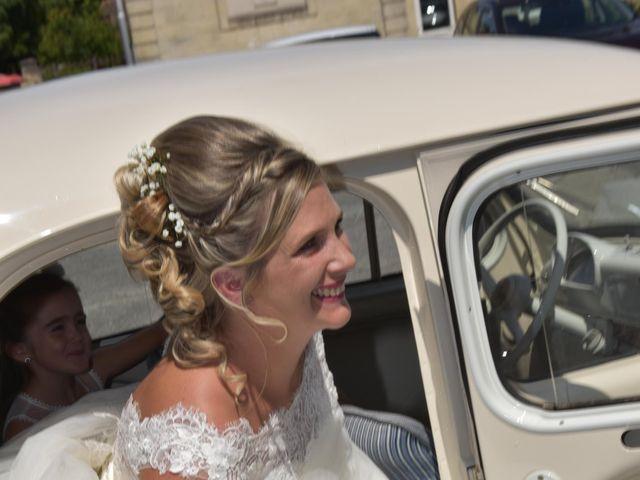 Le mariage de David et Mathilde à Cadaujac, Gironde 17