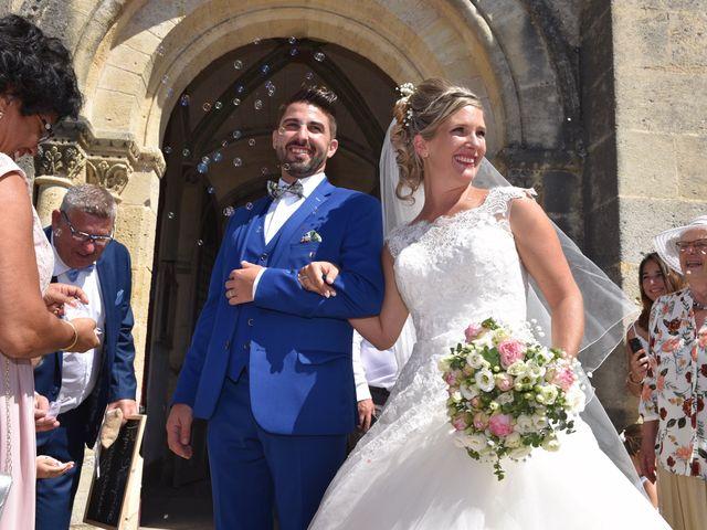 Le mariage de David et Mathilde à Cadaujac, Gironde 24
