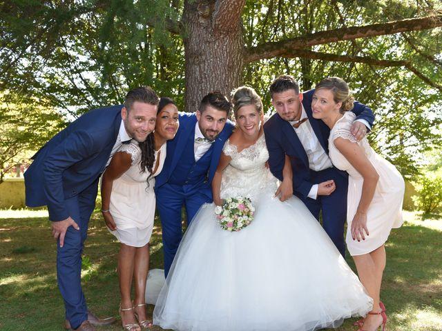 Le mariage de David et Mathilde à Cadaujac, Gironde 25