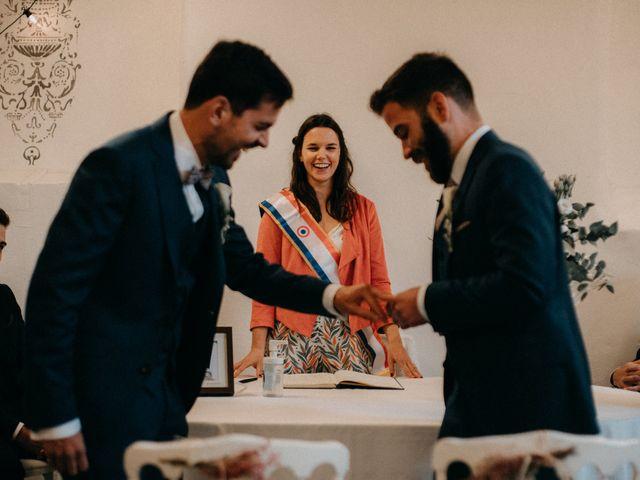 Le mariage de Aurélien et Vladimir à Roiffieux, Ardèche 15