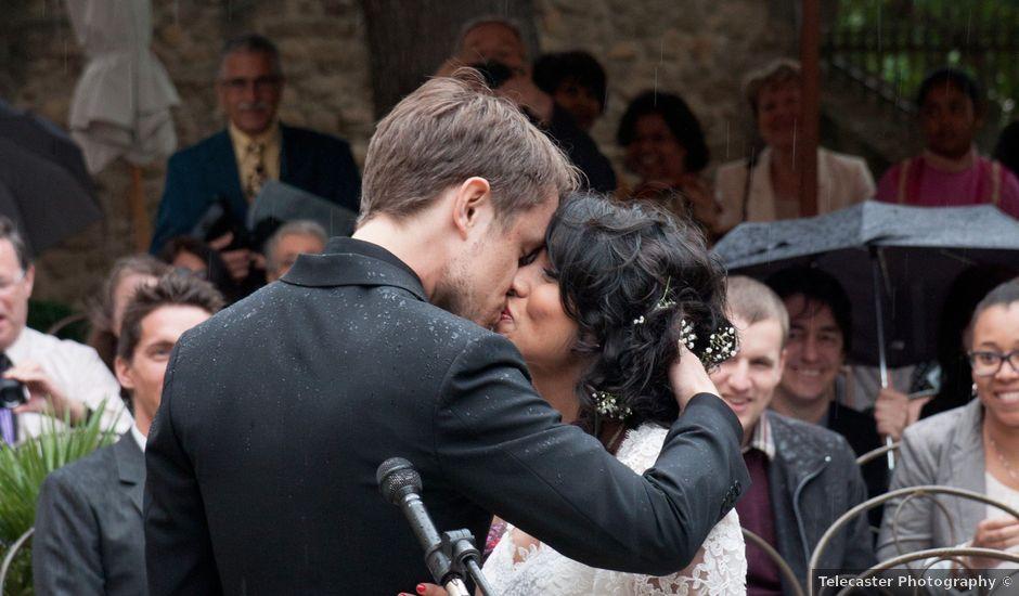 Le mariage de Marc et Ashley à Rochegude, Drôme