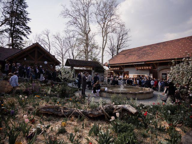 Le mariage de Jean-Baptiste et Sara à Aix-les-Bains, Savoie 49