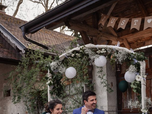 Le mariage de Jean-Baptiste et Sara à Aix-les-Bains, Savoie 61
