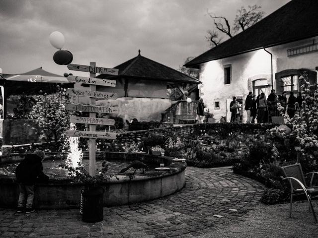 Le mariage de Jean-Baptiste et Sara à Aix-les-Bains, Savoie 80