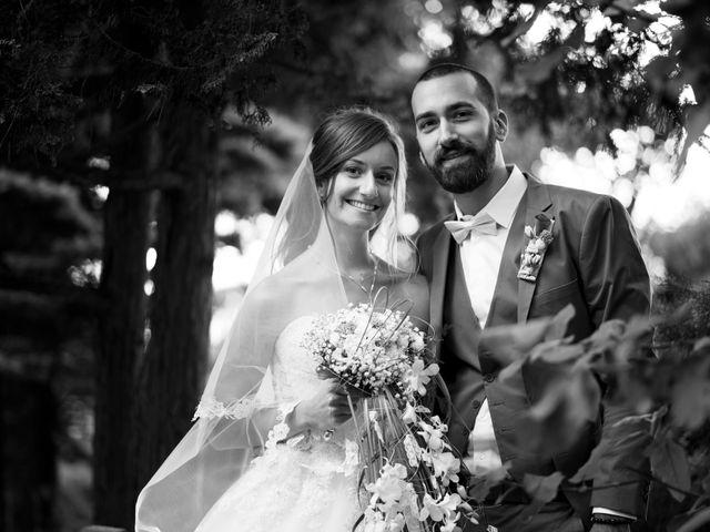 Le mariage de Harmonie et Joshua à Divonne-les-Bains, Ain 1