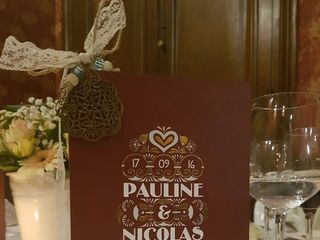 Le mariage de Pauline et Nicolas 1