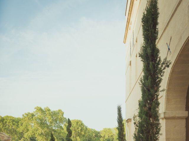 Le mariage de Ludovic et Sandrine à Villevieille, Gard 6