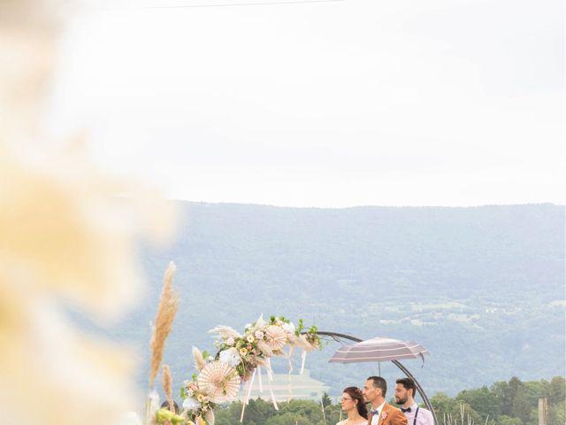 Le mariage de Marc-Antoine et Marine à Nances, Savoie 25