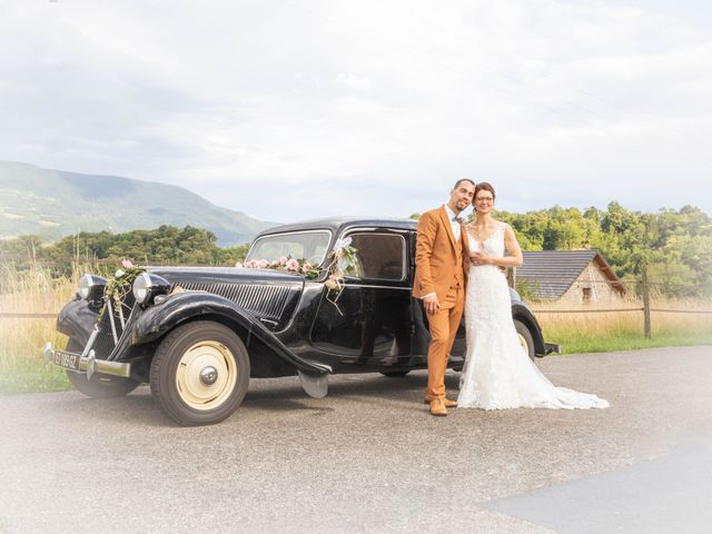 Le mariage de Marc-Antoine et Marine à Nances, Savoie 35