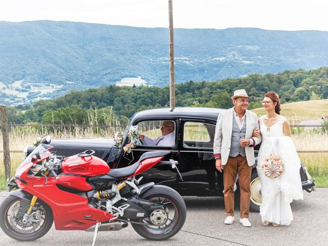 Le mariage de Marc-Antoine et Marine à Nances, Savoie 42