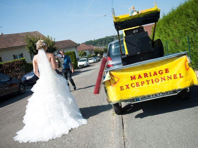 Le mariage de Benjamin et Isabelle à L'Isle-sur-le-Doubs, Doubs 44