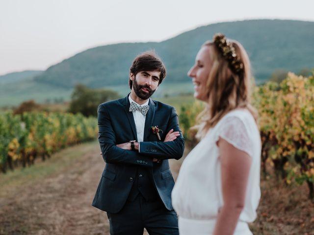 Le mariage de Pierre-Sébastien et Audrey à Westhalten, Haut Rhin 9