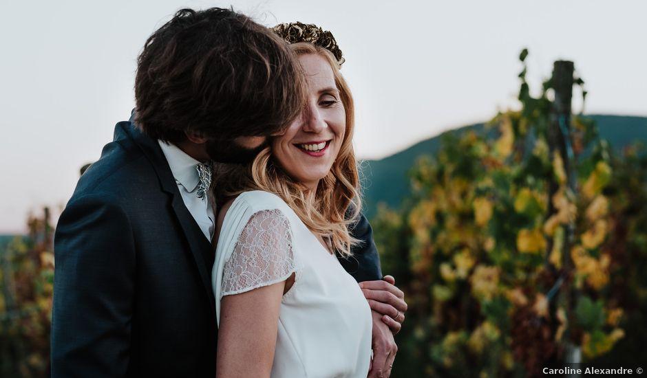 Le mariage de Pierre-Sébastien et Audrey à Westhalten, Haut Rhin