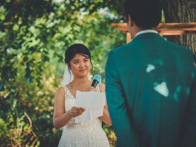 Le mariage de Lucie et Emmanuel à Savigneux, Loire 58