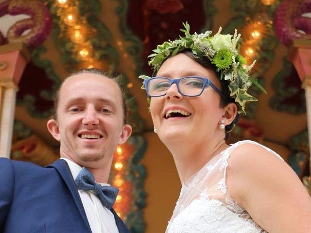 Le mariage de Romain et Amandine à Granges-sur-Vologne, Vosges 4