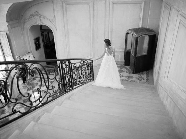 Le mariage de François et Tatiana à Ermenonville, Oise 4