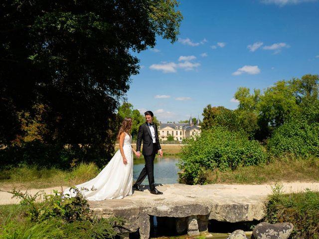 Le mariage de François et Tatiana à Ermenonville, Oise 14