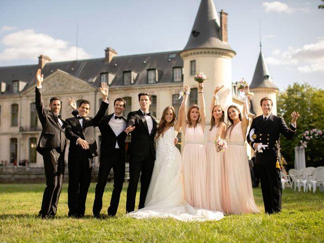 Le mariage de François et Tatiana à Ermenonville, Oise 18