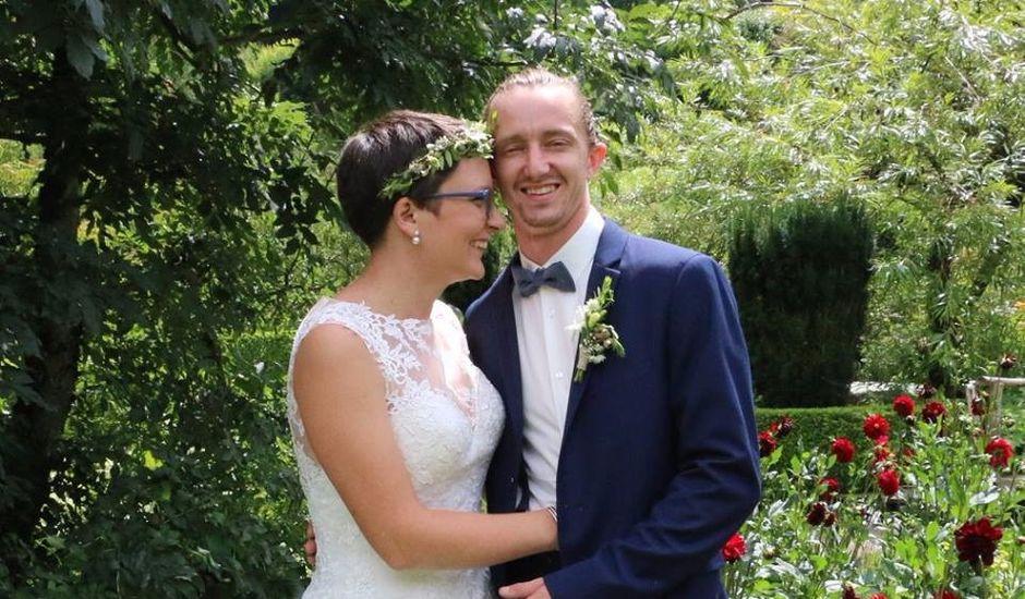 Le mariage de Romain et Amandine à Granges-sur-Vologne, Vosges