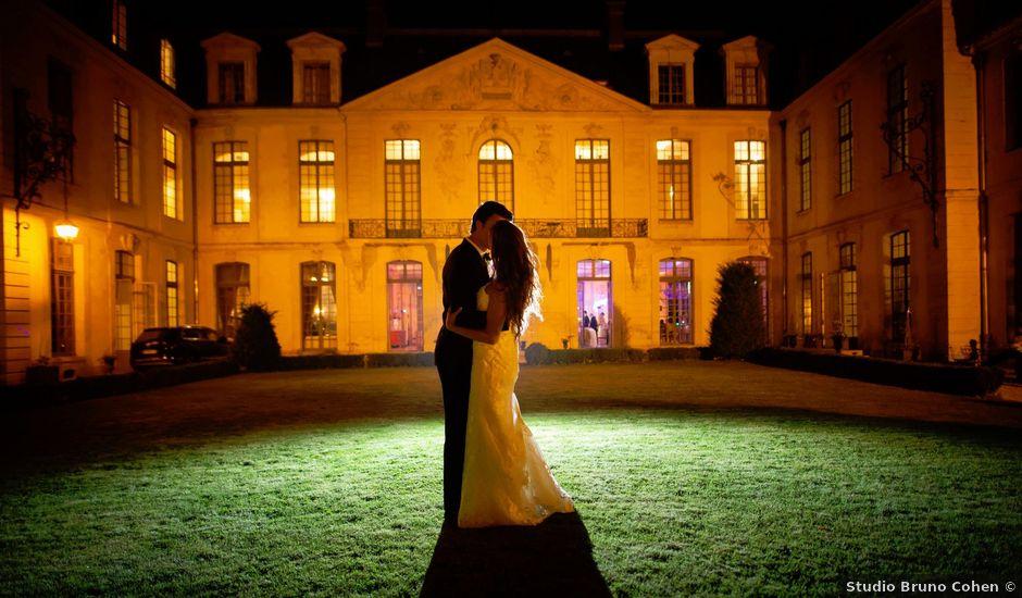 Le mariage de François et Tatiana à Ermenonville, Oise