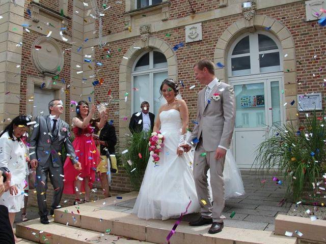 Le mariage de Vincent et Laura à Boves, Somme 1
