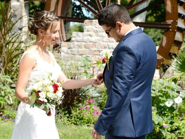Le mariage de Maxime et Marina à Chaveyriat, Ain 6