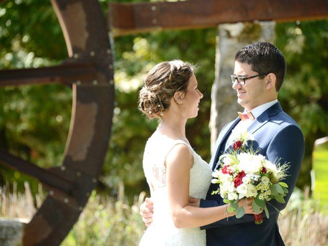 Le mariage de Maxime et Marina à Chaveyriat, Ain 9