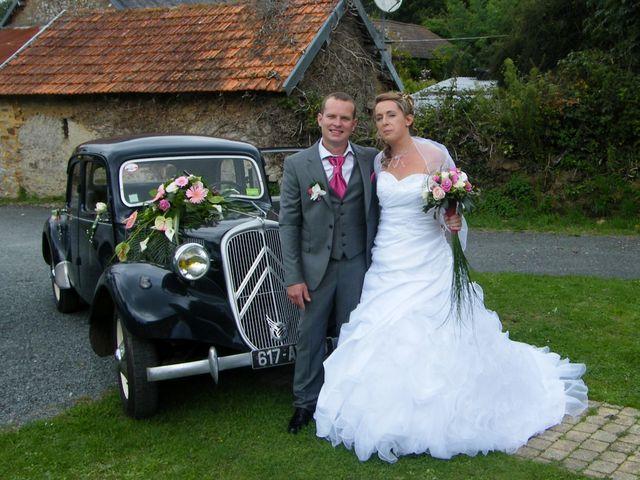 Le mariage de Alexandra et Benoit à La Haye-du-Puits, Manche 1