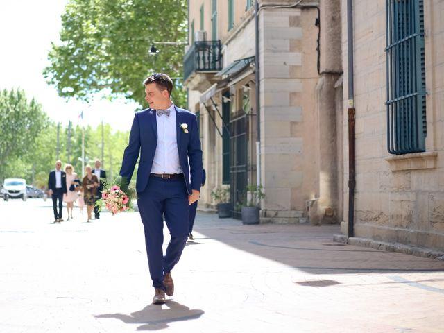 Le mariage de Sylvain et Fanny à Draguignan, Var 1