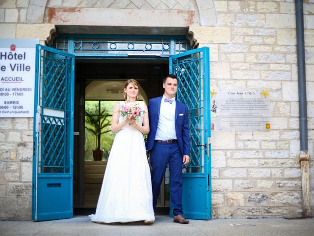 Le mariage de Sylvain et Fanny à Draguignan, Var 9