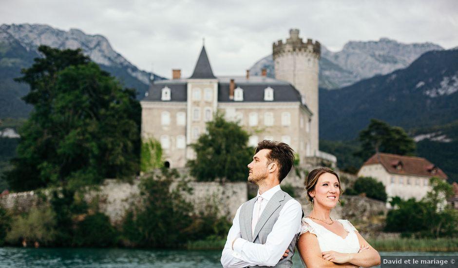 Le mariage de Kevin et Aurélie à Annecy, Haute-Savoie
