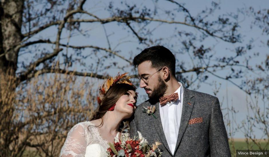 Le mariage de Mathias et Violène à Braye, Aisne