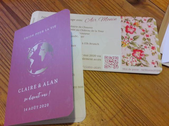 Le mariage de  Alan et  Claire à Gouvieux, Oise 4