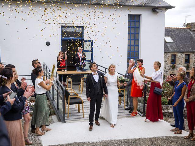 Le mariage de Jordi et Marine à Spézet, Finistère 13