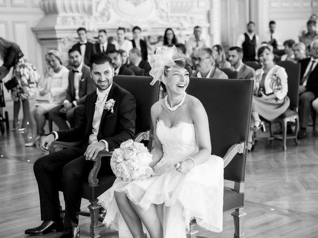 Le mariage de Kévin et Clémence à Saint-Antoine-du-Rocher, Indre-et-Loire 10