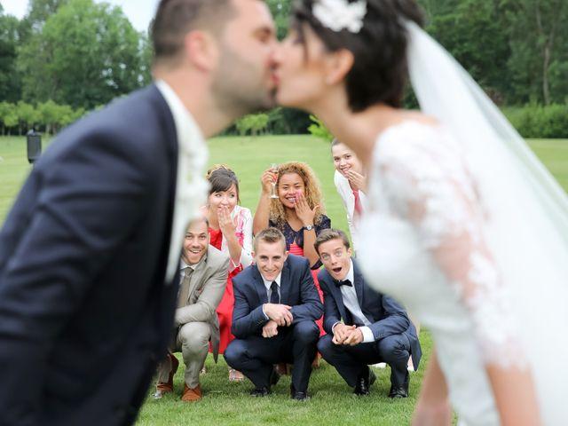 Le mariage de Kévin et Clémence à Saint-Antoine-du-Rocher, Indre-et-Loire 45