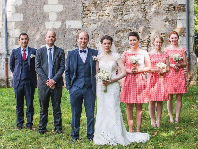 Le mariage de Baptiste et Anna à Bossée, Indre-et-Loire 14
