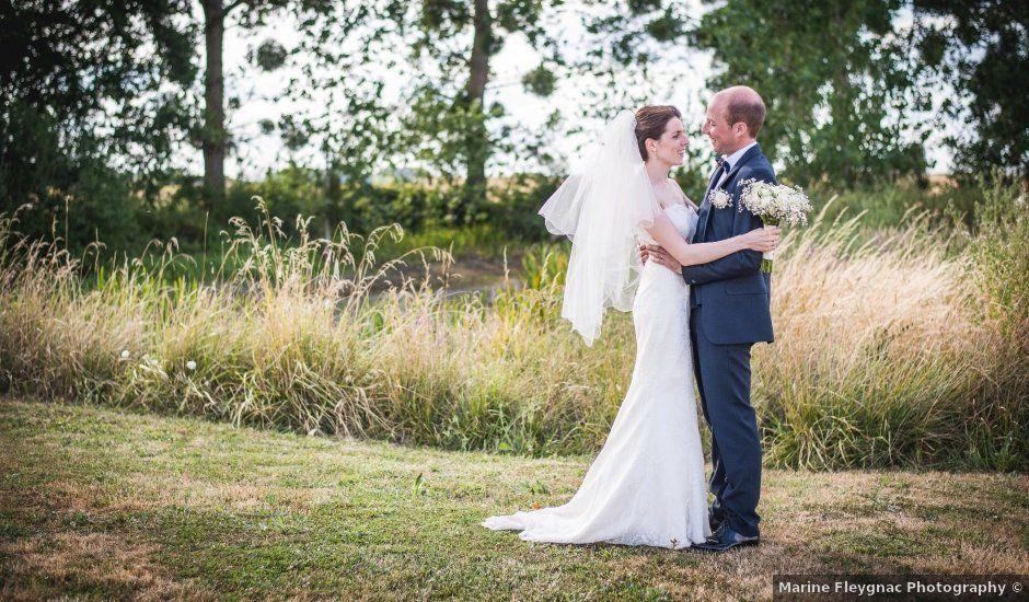 Le mariage de Baptiste et Anna à Bossée, Indre-et-Loire