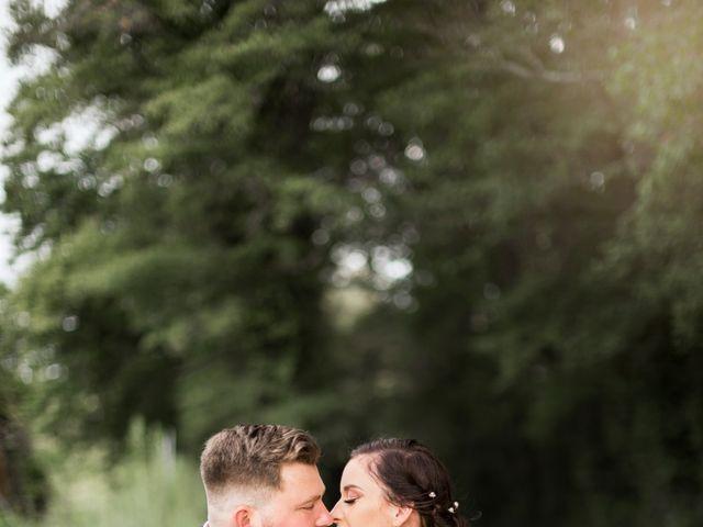 Le mariage de Claude et Caroline à Chaudron-en-Mauges, Maine et Loire 1