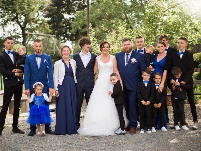 Le mariage de Claude et Caroline à Chaudron-en-Mauges, Maine et Loire 18