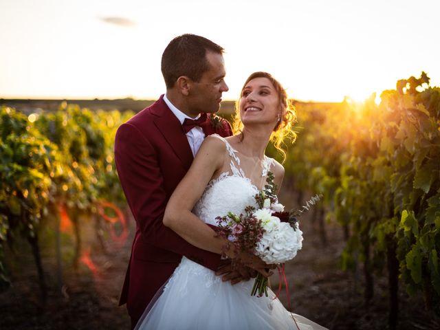 Le mariage de Mathieu et Charlène à Jurignac, Charente 7