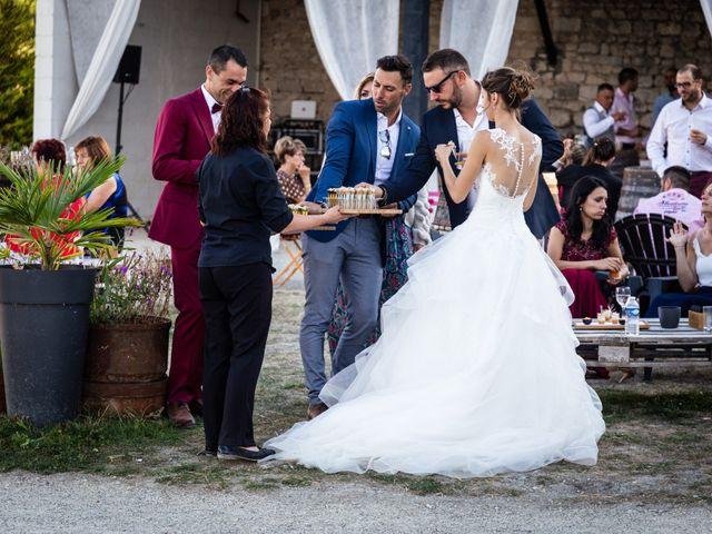 Le mariage de Mathieu et Charlène à Jurignac, Charente 21