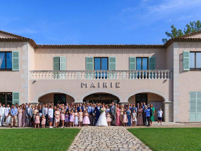 Le mariage de Kevin et Laure à Opio, Alpes-Maritimes 17