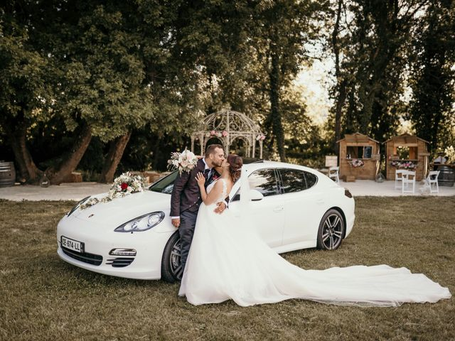 Le mariage de David et Audrey à Entrecasteaux, Var 44